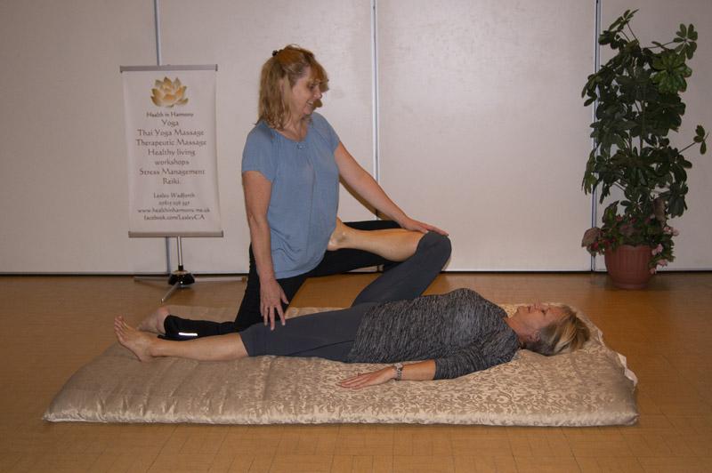 Thai yoga massage 2